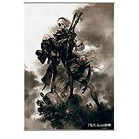 NieR:Automata ウォールスクロール ポスター
