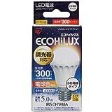 アイリスオーヤマ LED電球 25w相当 小形電球 調光 電球色相当 (300lm) LDA5LHE17DV1