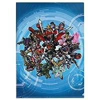 第3次スーパーロボット大戦Z 天獄篇 クリアファイル 「PS3/PSVITAソフト 第3次スーパーロボット大戦Z 天獄篇」 ゲオ購入特典