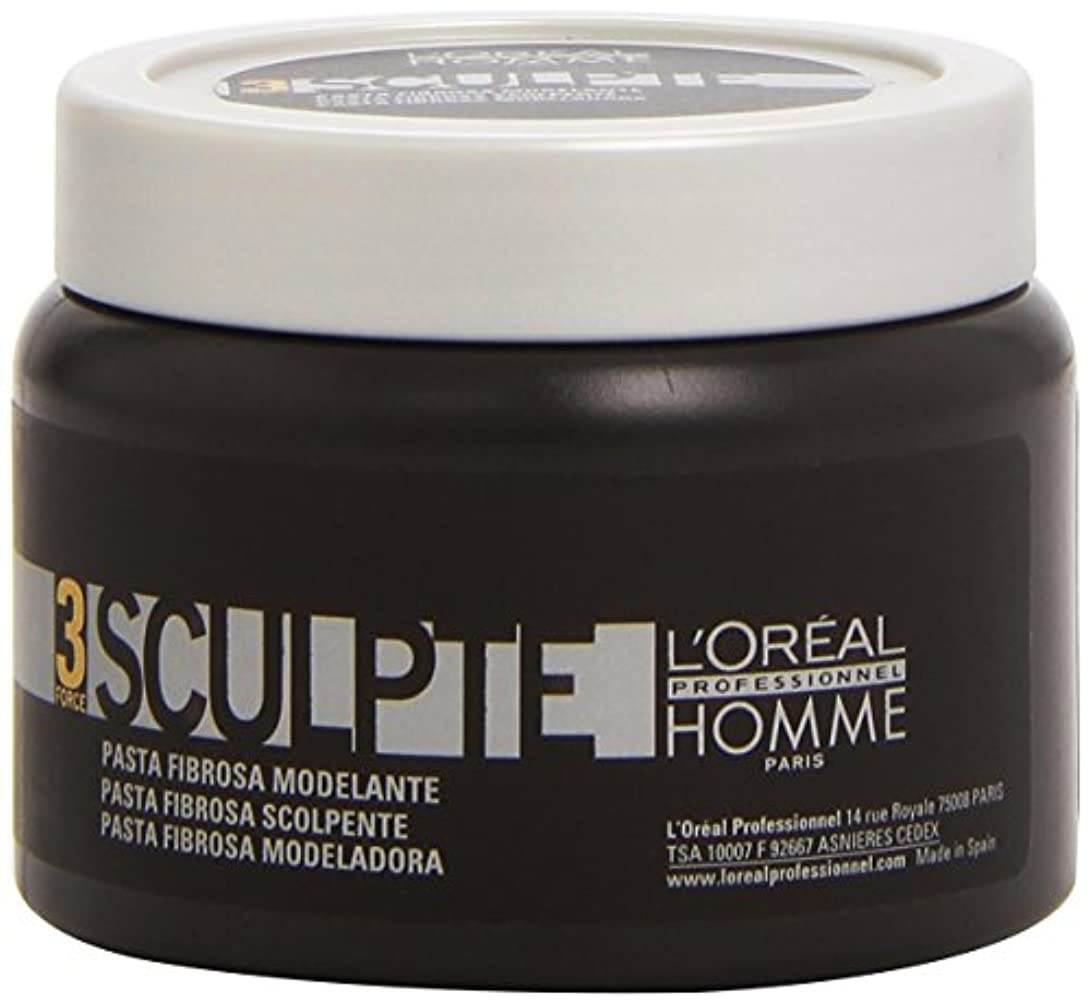 体系的にアスペクト香水Homme by L'Oreal Professional Sculpte - Sculpting Fibre Paste Force 3 150ml