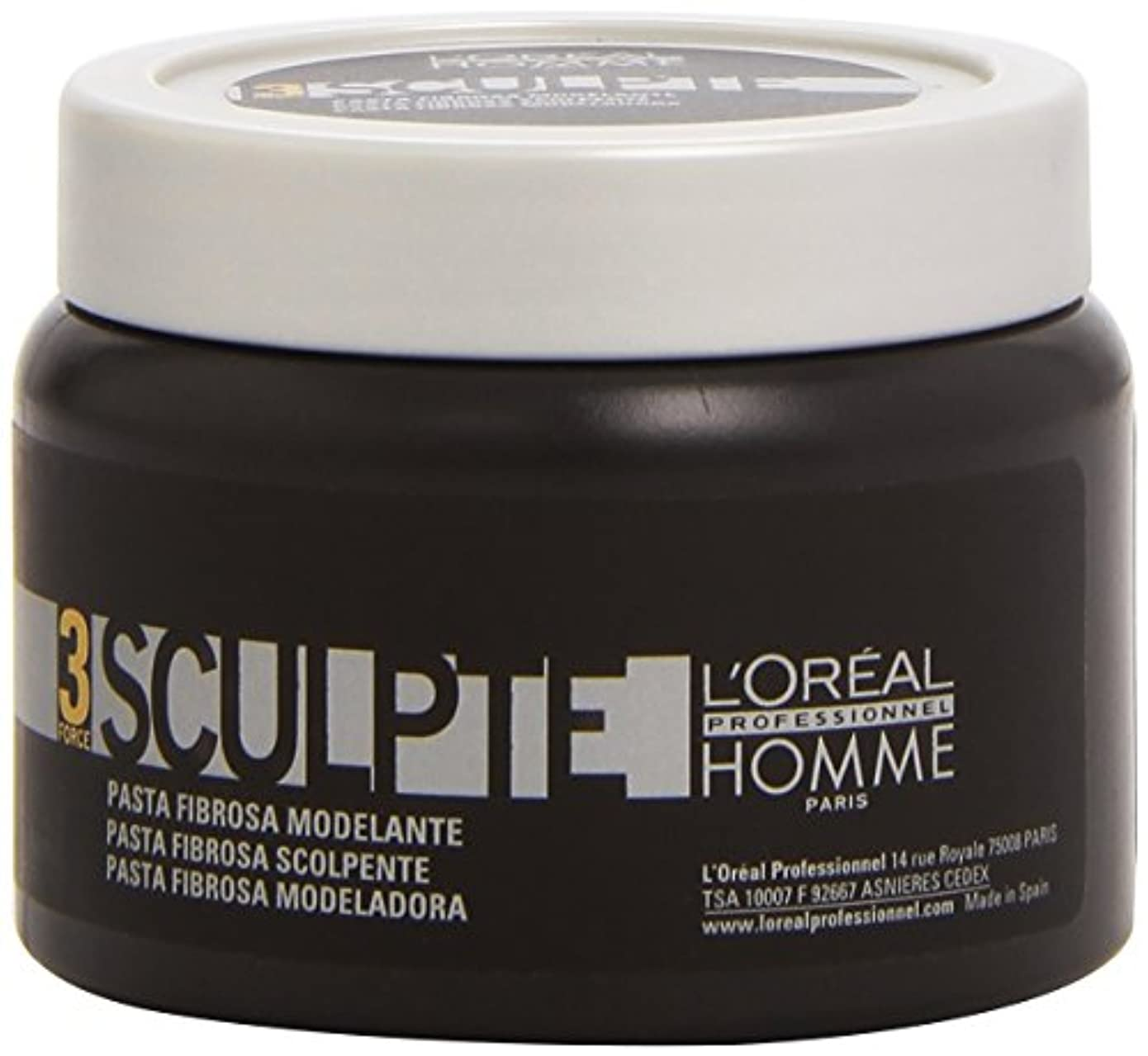 三角願う勇気Homme by L'Oreal Professional Sculpte - Sculpting Fibre Paste Force 3 150ml