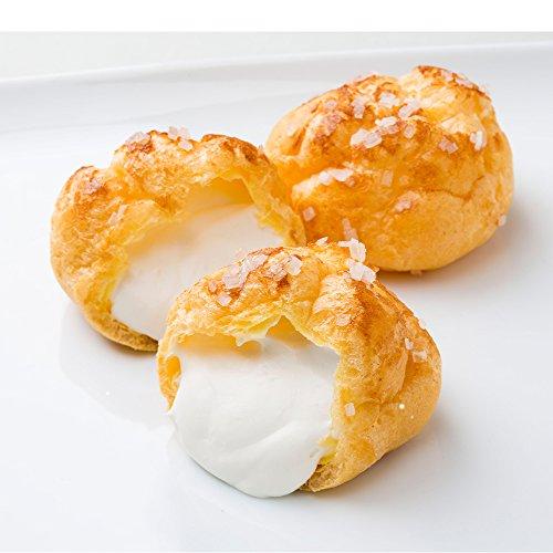 白あん ミルククリーム ざらめシューミルク10個 シュークリーム
