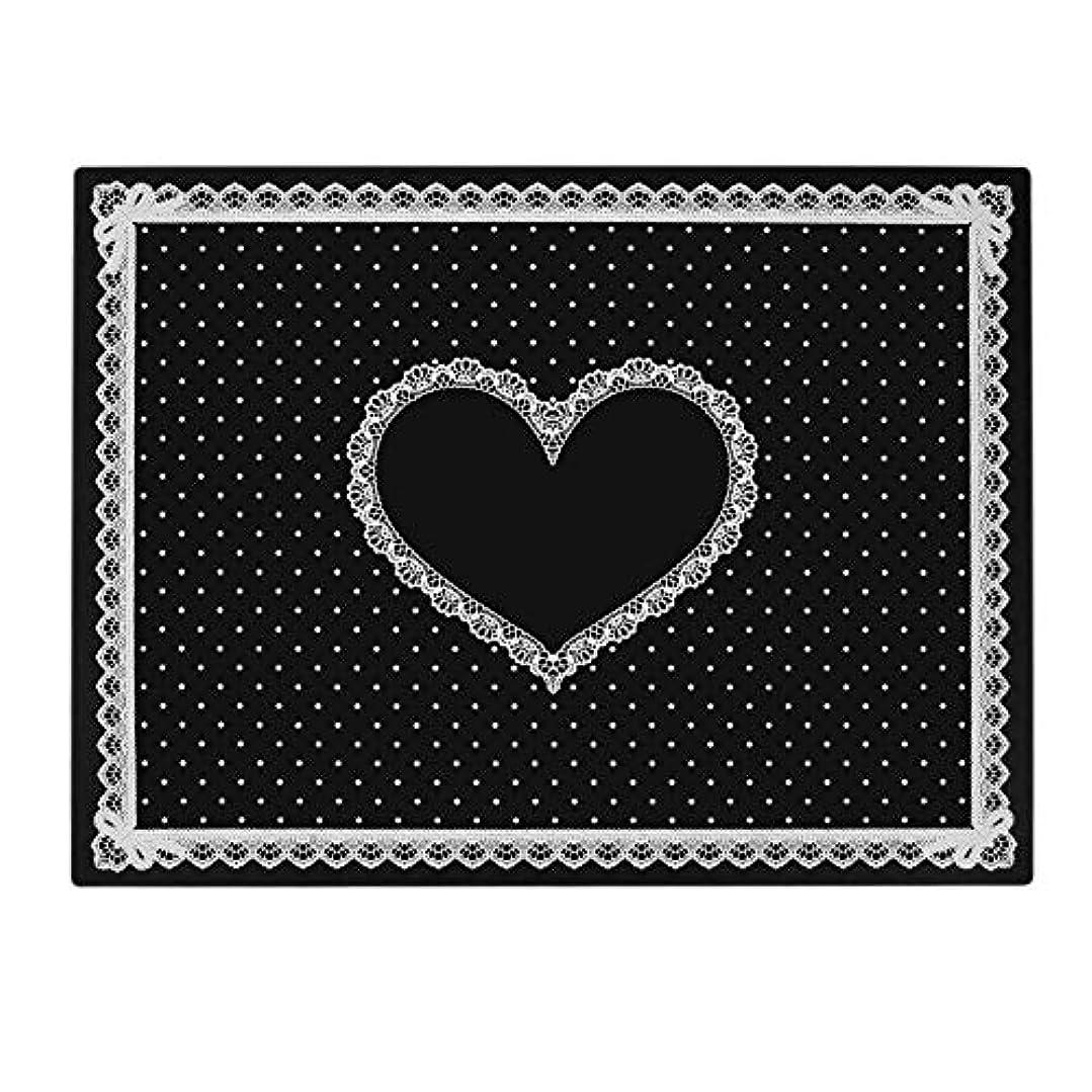 アフリカ人レンジ闇Yuyte 5色高品質の快適なシリコンハンドレストクッション枕-ネイルアートテーブルアーム手首パッドマニキュアサロン(14)