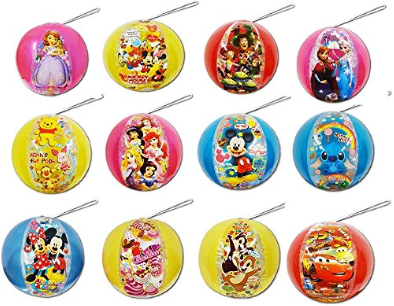 【ビニール玩具】 ディズニーオールスター ビーチボール 12種プラス1 合計13個