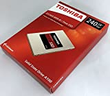 [TOSHIBA] 東芝 A100シリーズ SSD 2.5inch 240GB SATA 6Gbps (読込:550MB/s 書込:480MB/s) THN-S101Z2400A8
