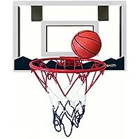 (スピーディー) Speedy 屋内用ミニバスケットゴール 18×12インチ 飛散防止バックボードとダブルスプリング分離型リム付き