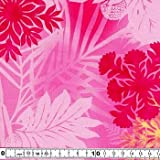 キャシー中島のハワイアンプリント生地  リナ2014(20076-20) ※価格は、10cmの価格。ご注文は、50cmから10cm単位で承ります。 Kathy Mom ルシアン LECIEN アイランドスタイル 布・生地