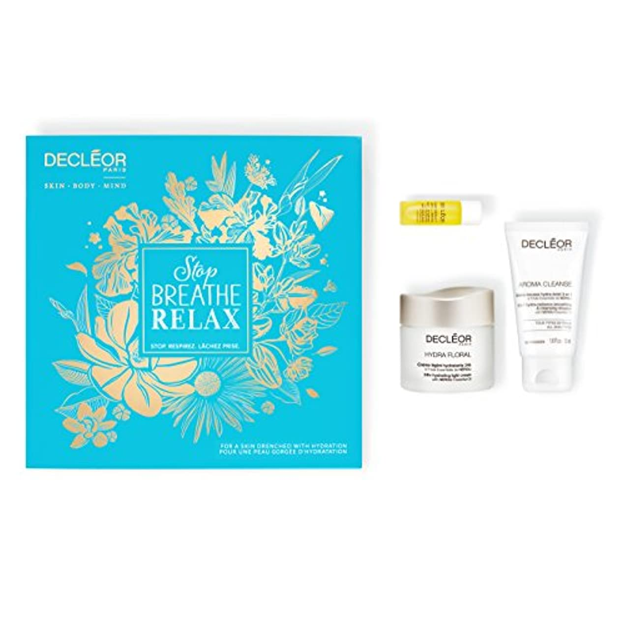 ダンプ小競り合い厚いデクレオール Stop.Breathe.Relax Holiday Kit:Cleansing Mousse 50ml+ Hydrating Oil Serum 5ml+ 24hr Hydrating Light Cream...