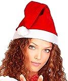 R-STYLE 超かわいい 定番 サンタ サンタクロース 帽子 クリスマス コスプレ サンタ 帽子 (サンタ帽子 通常)