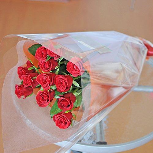 最高級のトップローズを使用した 赤いバラの花束 10本 エーデ...