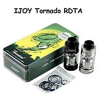 IJOY TORNADO RDTA(RDA WITHOUT DRIPPING) 30-300W TANK アトマイザー RDTAアトマイザー 4.0ML 510タイプ (黒)