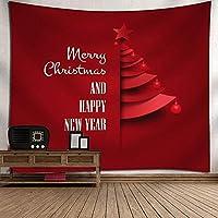 GLYY クリスマス タペストリー 150*130 CM 壁掛けタペストリー 壁面装飾|飾りウォールデコレーション インテリア装飾 贈り物|ギフトプレゼントインテリア A17