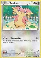 pokemon audino 87 black and white reverse holofoil pokemon