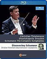 シューマン : 交響曲全集 (Schumann : The Complete Symphonies / Christian Thielemann   Staatskapelle Dresden) [Blu-ray] [Import] [日本語帯・解説付]