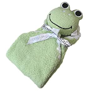 [カシウエア]kashwere アニマルミニブランケット ANIMAL MINI BLANKET Frog カエル KK-60-04-45[並行輸入品]