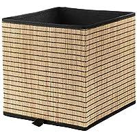 IKEA/イケア GNABBAS:バスケット32x35x32 cm シーグラス/ブラック (404.003.17)