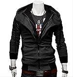 (アルファーフープ) α-HOOP メンズファッション ジャケット フード 付き ジップアップ パーカー 大きいサイズ M ~ XXL 大人 男性 用 アウター a20a (06.深灰(L))…