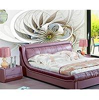 Ansyny カスタム壁紙家の装飾壁画リビングルームの寝室の抽象的な花のテレビのソファの背景の壁紙3D-360X250Cm
