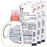 【まとめ買い】さらさ  洗濯洗剤 液体 本体 850g + 詰替用 750gx3個 画像