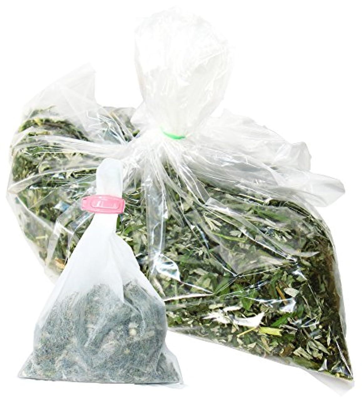 ディーラー方法インド自然健康社 よもぎ蒸しのよもぎ 250g 乾燥刻み 煮出し袋10枚付