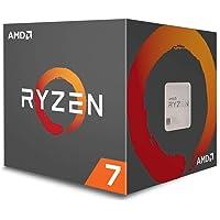 AMD CPU Ryzen7 1700 with WraithSpire 65W cooler AM4 YD1700BB…