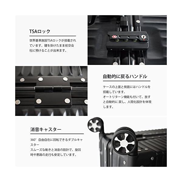 (アザブロ) AZBRO スーツケース キャリ...の紹介画像5