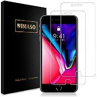 【2枚セット】 Nimaso iPhone 8 Plus / 7 Plus 用 強化ガラス液晶保護フィルム 【日本旭硝子製】3D Touch/硬度9H/高透過率 (iPhone8 Plus / iPhone7 Plus)
