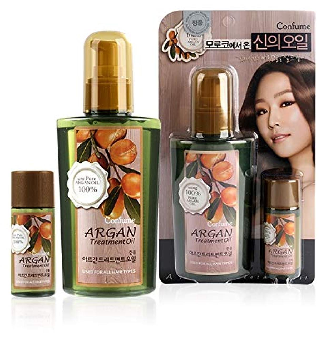 ポンプ隠タフウェルコス(WELCOS) アルガン トリートメント オイル / Welcos Confume Argan Treatment Oil [並行輸入品]
