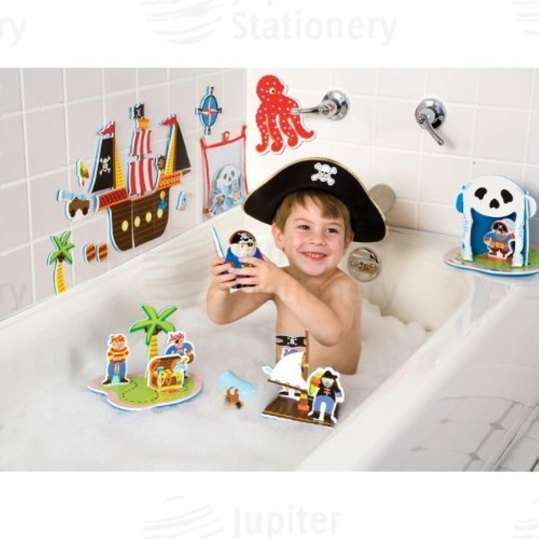 Pirates of the Tub Bathtime Play Set, age 3+ (並行輸入品)