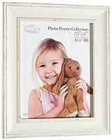 Inov8英国製写真/フォトフレーム、10×8インチ、大洗い白