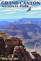 Grand Canyon National Park–South Rim 9 x 12 Art Print LANT-53275-9x12