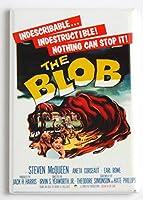 The Blob ( 1958)映画ポスター冷蔵庫マグネット( 2x 3インチ)