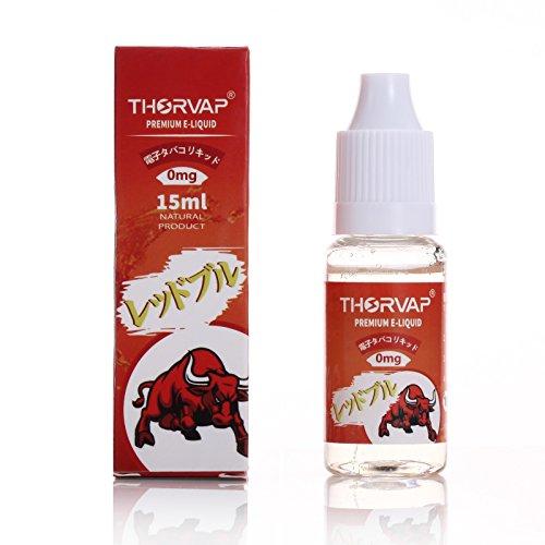 THORVAP ® Liquid 15ml 電子タバコ リキッド (レッドブル 15ml)