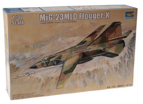 1/32 旧共産圏航空機シリーズ MIG-23MLD フロッガーK型