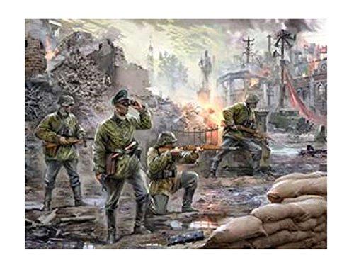 1/72 ドイツ将校&歩兵セット