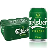 Carlsberg Green Label Can Beer, 320ml (Pack of 12) (ALC. 5.0%)