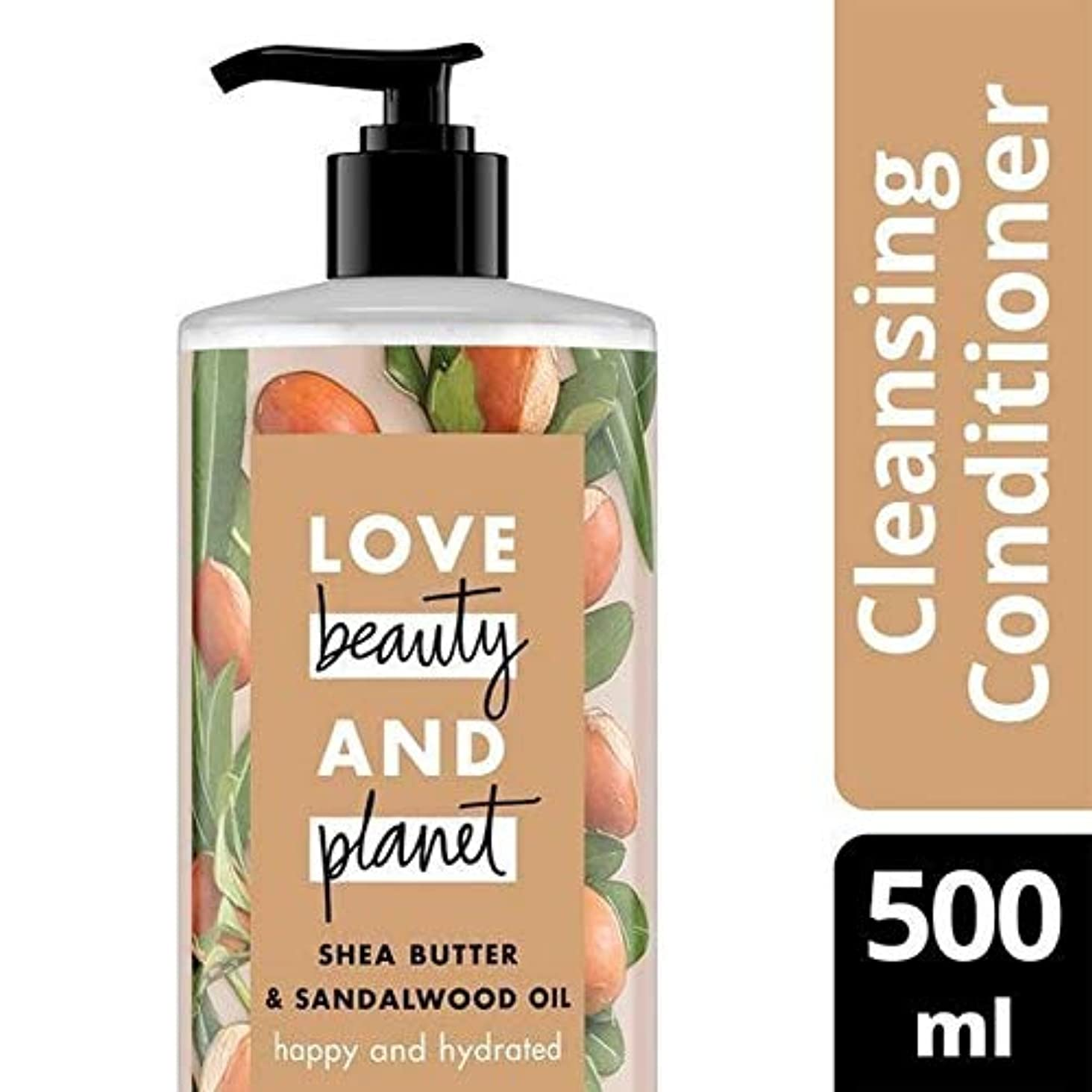 暴徒レルムを除く[Love Beauty and Planet ] 美しさと地球の幸せ&水和Cleansingconditionerを愛し - Love Beauty And Planet Happy & Hydrated CleansingConditioner...
