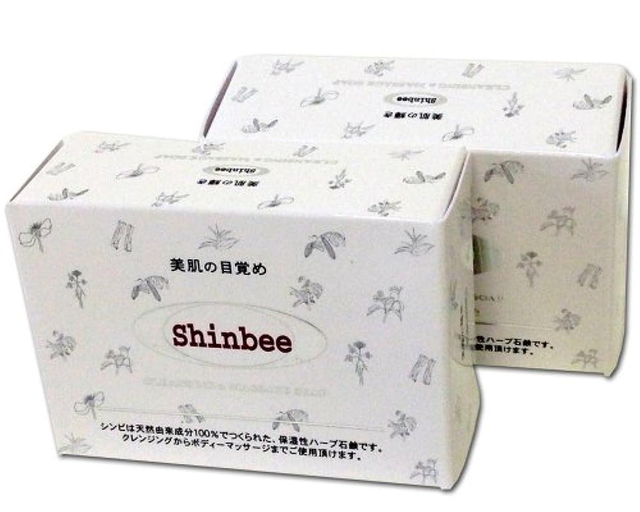 細分化する石形状シンビ韓方ハーブ石鹸 (2個セット)