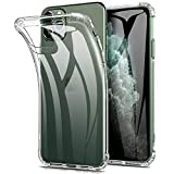 Eltd  iphone11 pro max ケース iphone 11 pro max ケース 薄型 TPUバンパー 2019年秋新発売6.5インチiphone用ソフトケース 擦り傷防止 黄変防止 全透明カバー 取り付け簡単 初期不良対応 クリア