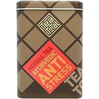 Tea total (ティートータル) / アンチ ストレス 100g入り缶 ニュージーランド産 (ハーブティー / フレーバーティー  / ノンカフェイン) [並行輸入品]