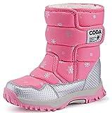 UBELLA スノーブーツ キッズ ブーツ 女の子 男の子 長靴 子供靴 ハイカット 防風 防水 保暖 雪用 雨の日 スキー 冬 オシャレ 男女兼用 人気