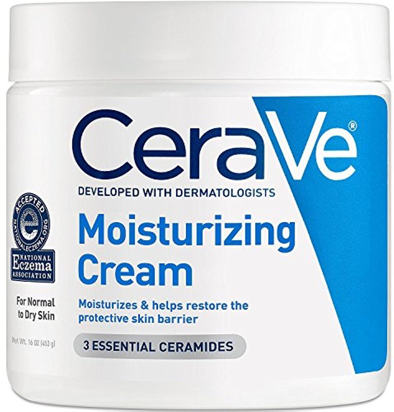 グリーンランド争い変更可能Cerave Moisturizing Cream, 16 oz [並行輸入品]
