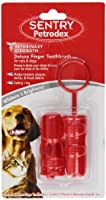 Petrodex Sentry HC Deluxe Finger Toothbrush for Dogs and Cats by Petrodex