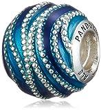 [パンドラ] PANDORA Blue Swirls チャーム (シルバー) 正規輸入品 797012ENMX