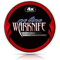 Warknife PEライン 4編 釣り糸 釣りライン (0.4号 0.6号 0.8号 1号 1.2号 1.5号 2号 2.5号 3号 3.5号 4号 5号 6号 7号 8号 9号 10号) (1000m 500m 300m 200m 150m) X4 超強力 高感度 耐磨耗 低伸度 高飛距離 釣糸 PE