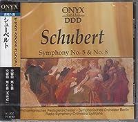 シューベルト/交響曲第5番変ロ長調D485、交響曲第8番「未完成」ロ短調D759、「高雅なワルツ」より~ピアノのためのワルツ、ドイツ舞曲 UC30