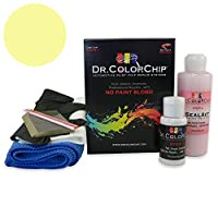 Dr。ColorChip Isuzu Impulse Automobileペイント Squirt-n-Squeegee Kit イエロー DRCC-520-8961-0001-SNS