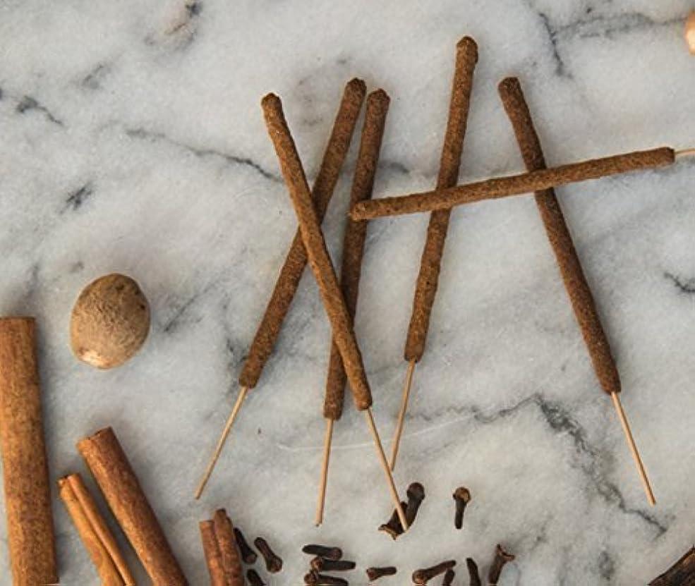 床ほかに第五Christmas Incense - 12 Holiday Spice Incense Sticks - All Natural Hand Rolled Herbal Incense [並行輸入品]