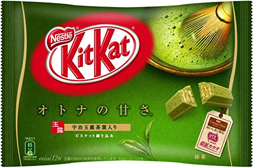 ネスレ日本 キットカット ミニ オトナの甘さ 抹茶 12枚×12袋