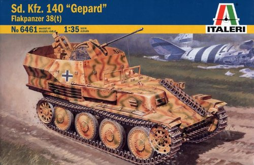 ドイツ 38(t) 対空自走砲 sd.kfz.140 38461 (タミヤ イタレリ 1/35 ミリタリーシリーズ 6461)